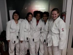 The BMC Judoka at the December 6th Open Mat Randori